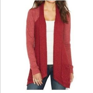 LUCKY BRAND LUCKY LOTUS Long Sleeve Soft Cardigan